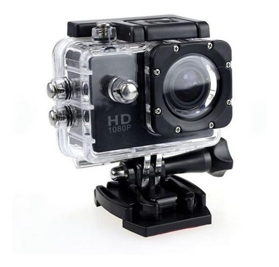 Camera Ultra Hd 1080p 2.0 Ação Esportes Cam Pro Completa