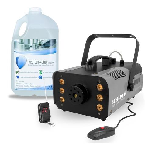Camara De Humo Steelpro Led Rgb + Protect-4000 Liquido Sani