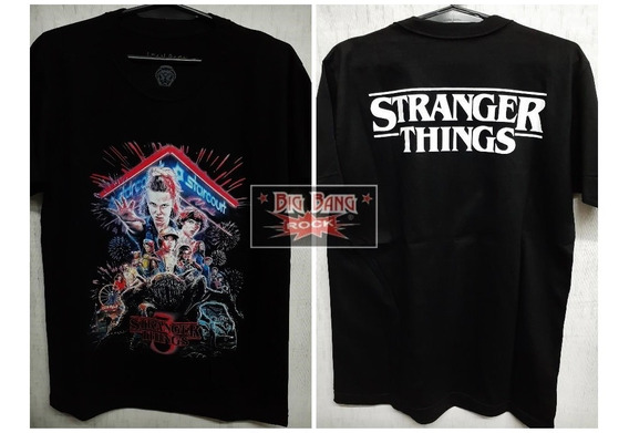Remera Stranger Things 1 Talle Extra Large X L (56 X 78 Cm)