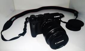 Camera Canon Mirroles M3 -( Pouco Uso)