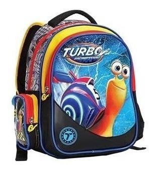 Mochila Escolar Tema Turbo Fast Racing Original - Seanite