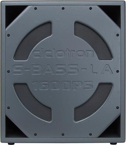 Ciclotron S-bass La1600ps Subwoofer Passivo De 200w De Rms