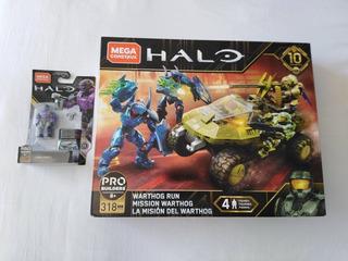 Warthog Run Halo 10 Aniversario Mega Construx Y Lang