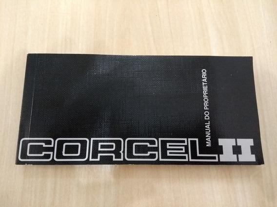 Manual Proprietário Ford Corcel 2 1982 Original