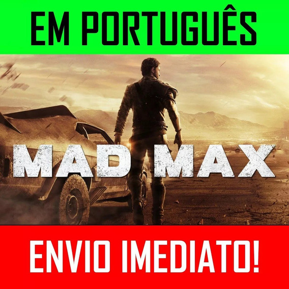 Mad Max- Pc Ptbr Jogo Completo