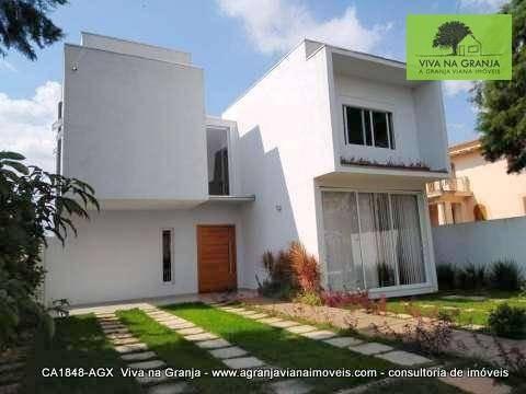 Casa Com 3 Dormitórios À Venda, 200 M² Por R$ 1.480.000,00 - Granja Viana - Cotia/sp - Ca1848