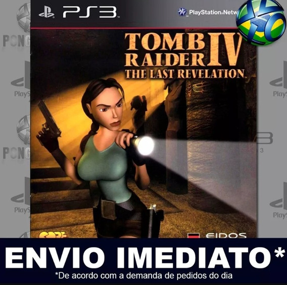 Tomb Raider: The Last Revelation Ps3 Psn Digital