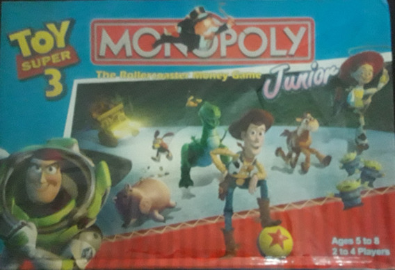Monopolio Toy Story Juego De Mesa Juguetes Niño Niña