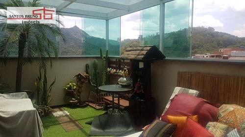 Imagem 1 de 19 de Cobertura À Venda, 90 M² Por R$ 459.000,00 - Vila Clarice - São Paulo/sp - Co0064