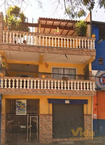 Imagem 1 de 15 de Sobrado Com Ponto Comercial Em Conceição  -  Osasco - 44103