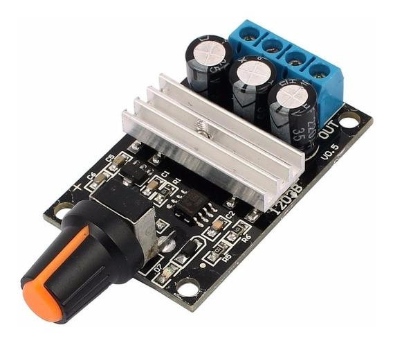Controlador De Velocidade Para Motor Dc Pwm 3a 6v-28v - 0154