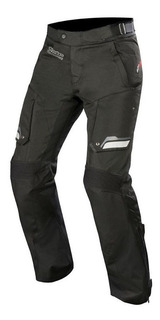 Pantalón Para Moto Alpinestars Touring Bogota V2 Ds Negro