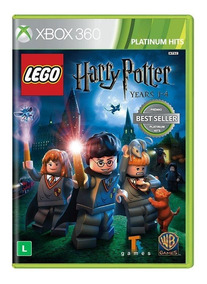Lego Harry Potter Years Ano 1 Ao 4 Xbox 360 Mídia Física
