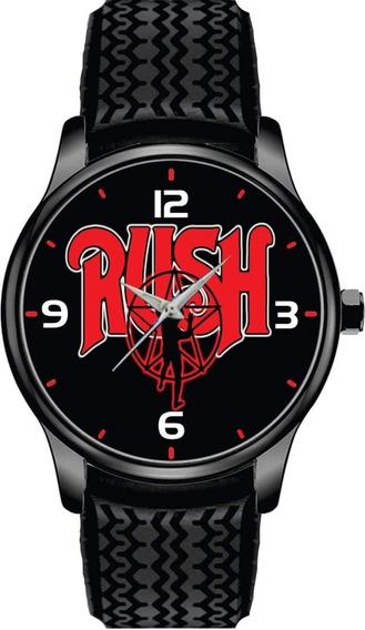 Relógio De Pulso Personalizado Banda Rock Rush - Cod.bsrp040