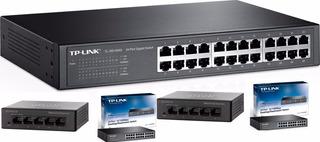 Switch 24/16/5 Puertos Gigabit Cisco/tplink