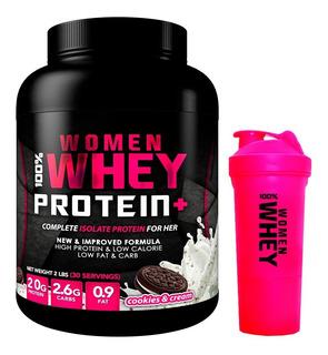Proteina Woman Whey + Shaker Woman Regalo + Envio Gratis