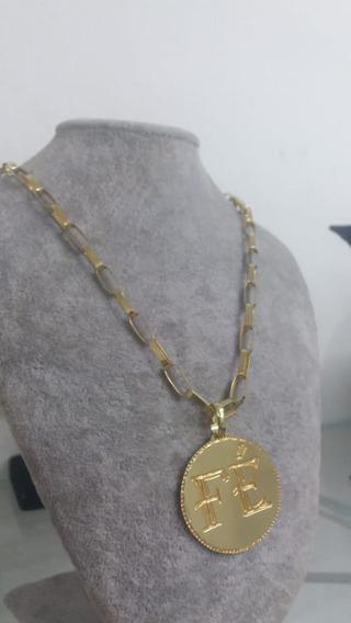 Cordão De Prata 925 Banhado A Ouro 24 K!!!