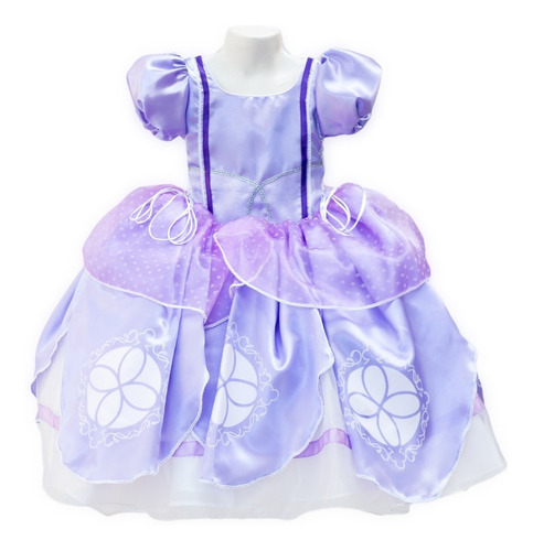 Vestido Sofia Princesita Disfraz