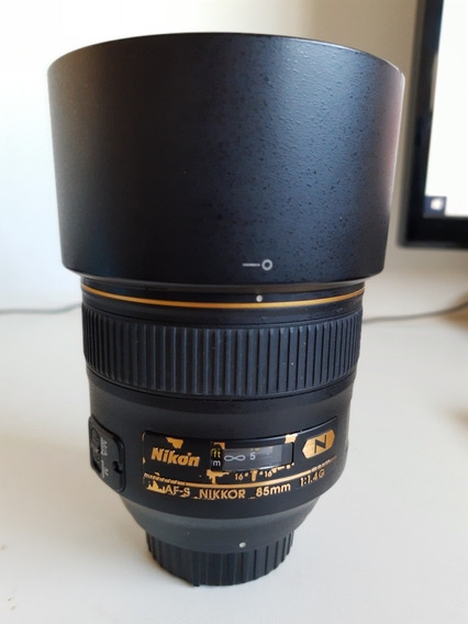 Lente Nikon 85mm F1.4g