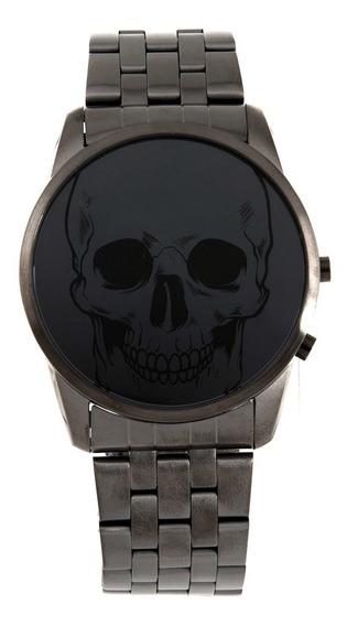 Relógios Aço Preto