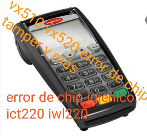 Reparacion De Puntos De Ventas Vx510 Vx520