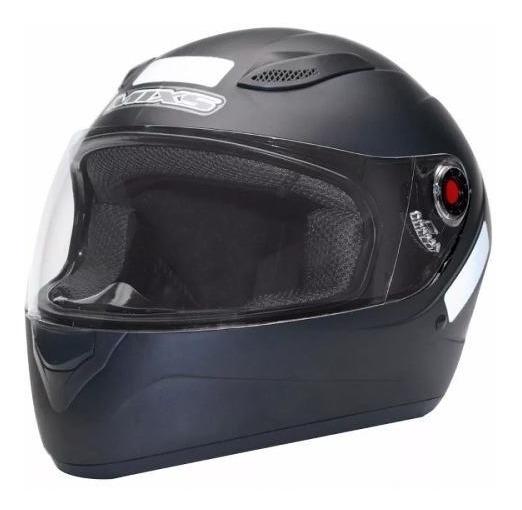 Capacete Fechado Mixs Helmets Preto Fosco Nº 58 Gjb