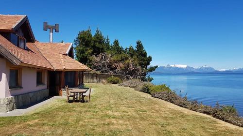 Imagen 1 de 30 de Casa Con Costa Al Lago - Villaverde Bariloche
