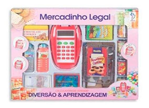 Mercadinho Legal Grande Calculadora De Verdade - Fenix