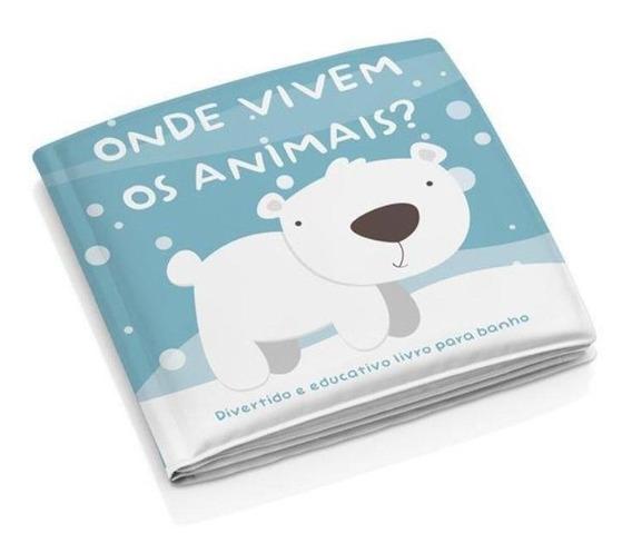 Livro De Banho Onde Vivem Os Animais - Multikids Baby