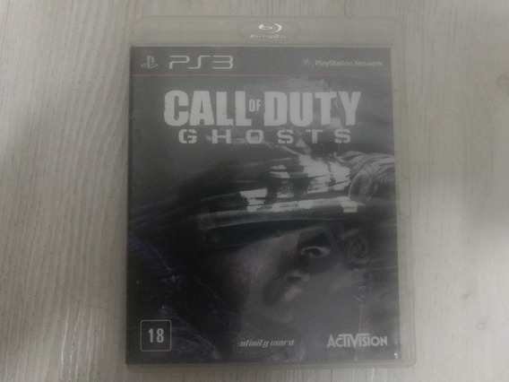 Jogo Ps3 Call Of Duty Ghosts Mídia Física