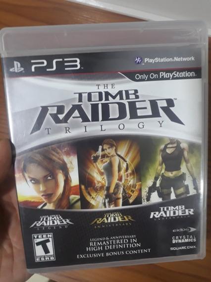 Tomb Raider Trilogy Ps3 ( Impecavel ) Fisico