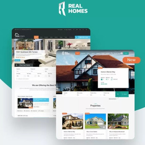 Real Homes Tema Wordpress Site Para Imobiliárias