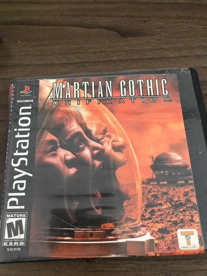 Martian Gothic Original Playstation Ps1