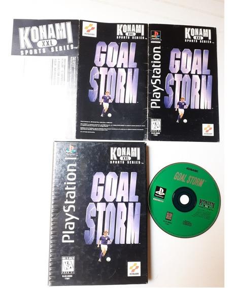 Goal Storm Long Box Ps1 O Primeiro!! Frete 12x Sem Juros