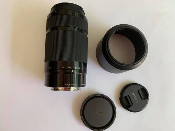 Lente Sony 55-210 Frete Grátis 12x Sem Juros. Promoção!!!