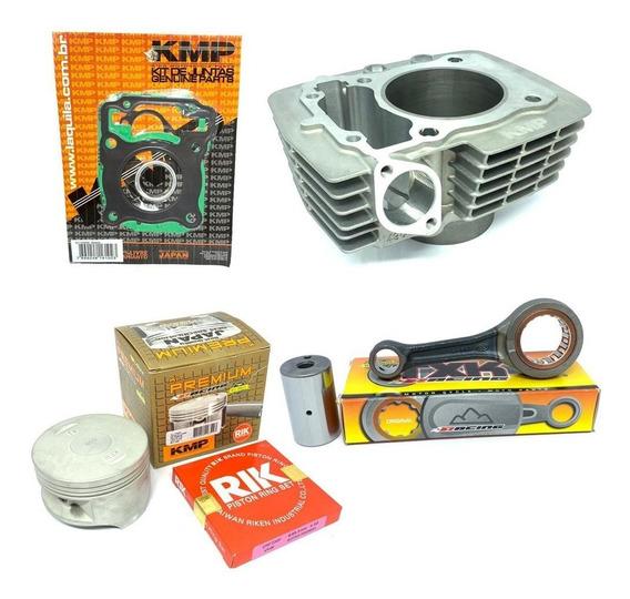 Kit Preparação Pistão Kmp Premium Crf 150f 220cc Biela Txk