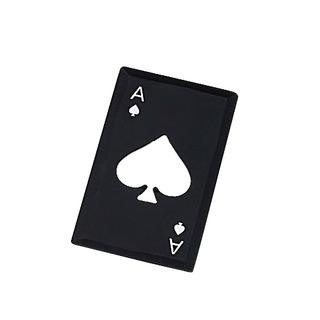 Crédito Aço Aço Cartão Pôquer Abridor Garrafa Tamanho Cartão