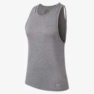 Playera Tank Miller Nike Dama Dry Running Gym Pesas At4210-056