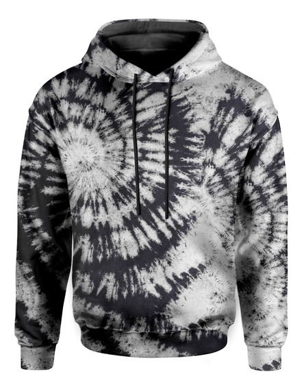 Moletom Com Capuz Unissex Espiral Flash Tie Dye Md04