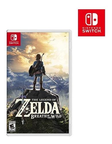 Zelda Breath Of The Wild Stock Nuevo Garantia Entrega Ya!