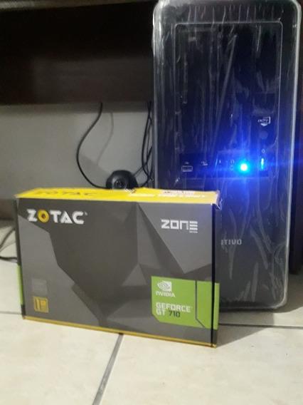 Pc Gamer Amd Fx 6300 3.5ghz 4gb 160hd Geforce Gt710 1gb Ddr3