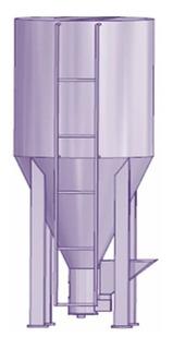 Planos Maquina Mezcladora Vertical Alimentos Granja Mezclas