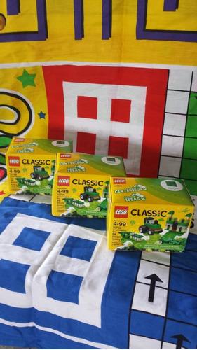 Lego Clasico Verde. Caja Creativa. 10708. 66 Piezas