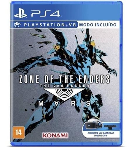 Zone Of The Enders 2nd Runner Mars Ps4 - Midia Fisica - Novo