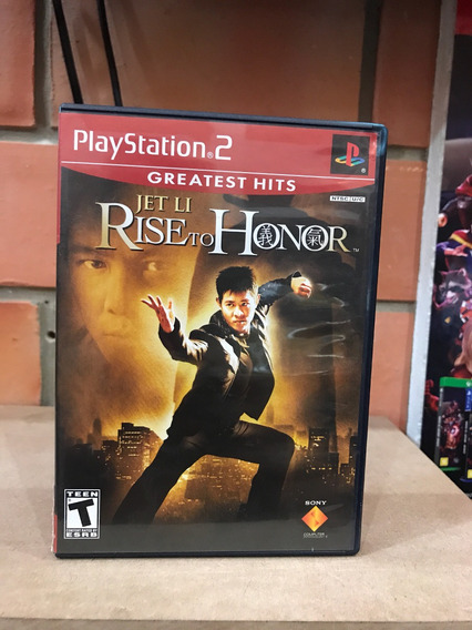 Jet Li Rise To Honor Ps2 Original Midia Fisica