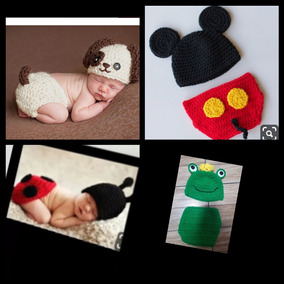 Newborn De Croche (kit Com 4 Conjuntos)