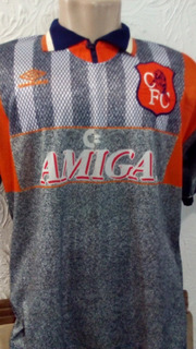 Camisa Chelsea Oficial Umbro G 1994 Inglaterra Raridade