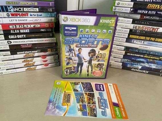 Kinect Sports Season Two Xbox 360 - Original Semi Novo Dvd