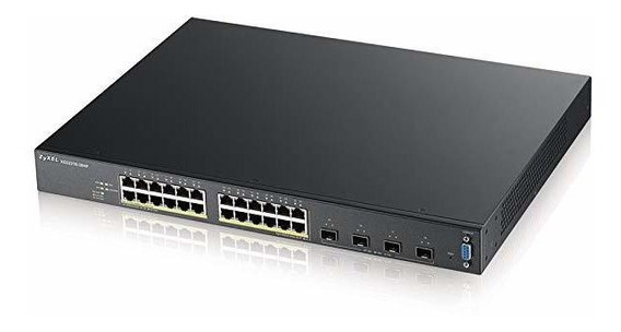 Switch Zyxel 24 Port 375w High Potenciados Poe+ Gigabit Eth®