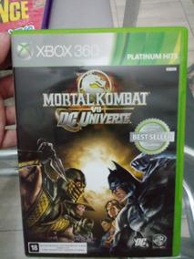 Mortal Kombat Vs Dc Universe Original Xbox 360 Jogo